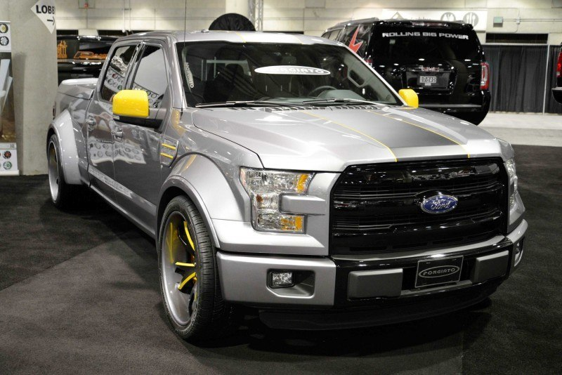 2015 Ford F-150 Show Trucks - Roundup of All Nine Pimped Pickups for SEMA and LA 2015 Ford F-150 Show Trucks - Roundup of All Nine Pimped Pickups for SEMA and LA