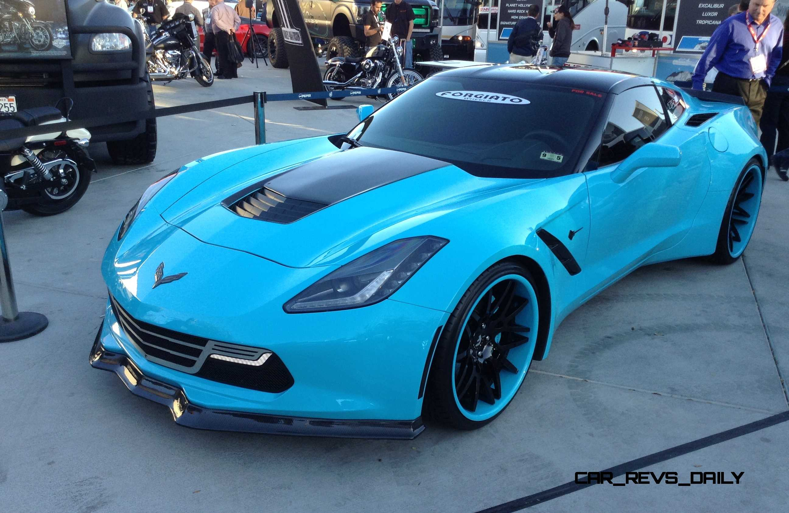 Best of SEMA 2014 - FORGIATO Wheels + Now Selling 3 Corvette C7 Widebody Demo Cars!