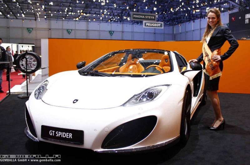 GEMBALLA GT Spider Is Perfect Update For McLaren 12C Spider 15