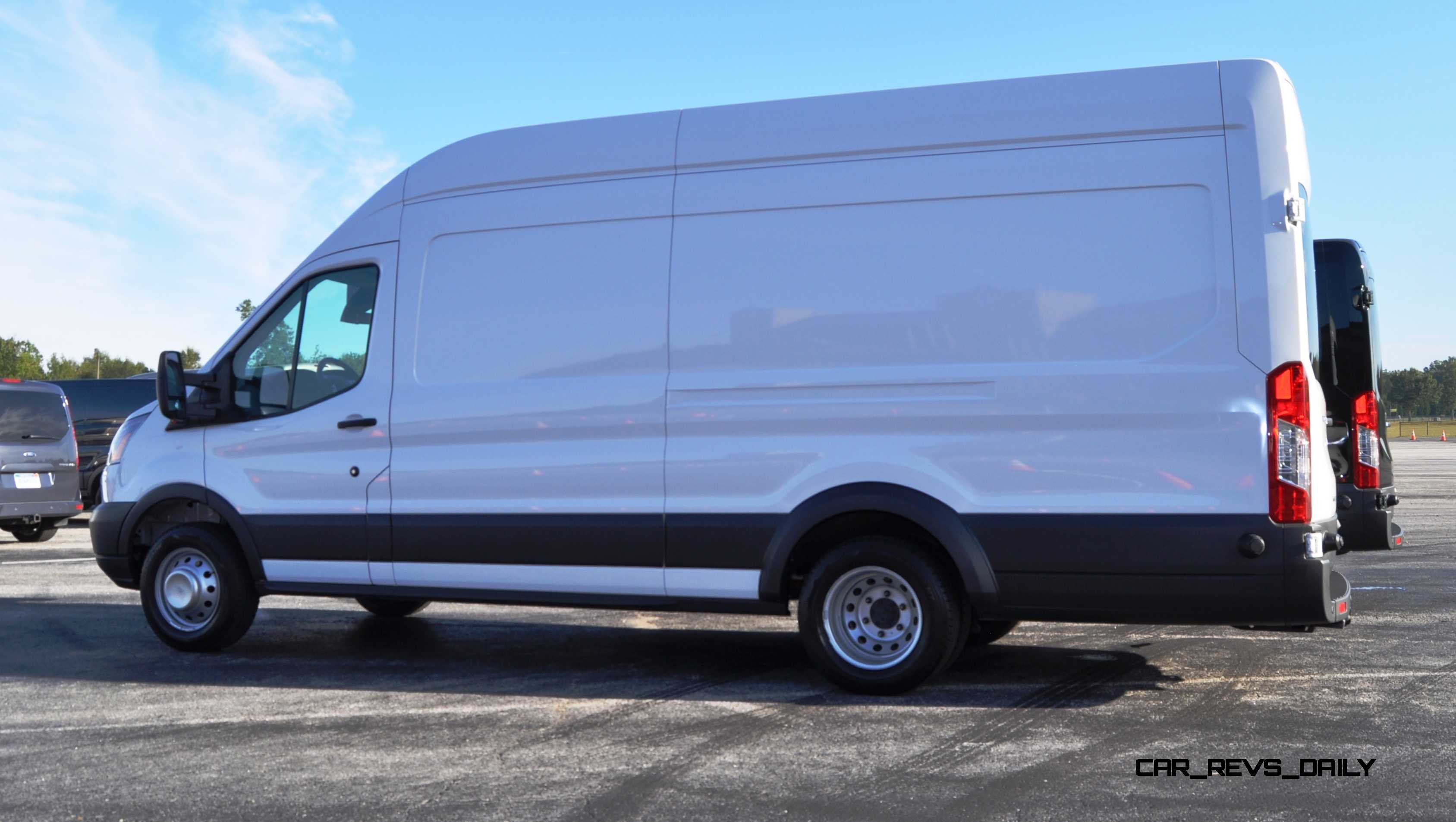 Click to Open Largest Resolution Image & HD Track Drive Review - 2015 Ford Transit PowerStroke Diesel High ... Aboutintivar.Com