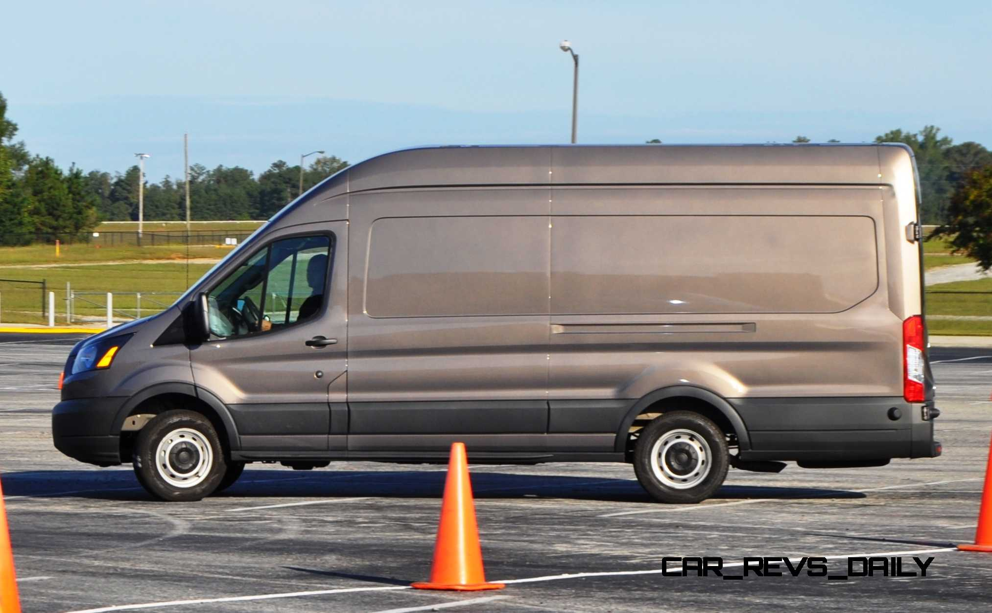 hd track drive review 2015 ford transit powerstroke diesel high roof long box cargo van 12. Black Bedroom Furniture Sets. Home Design Ideas