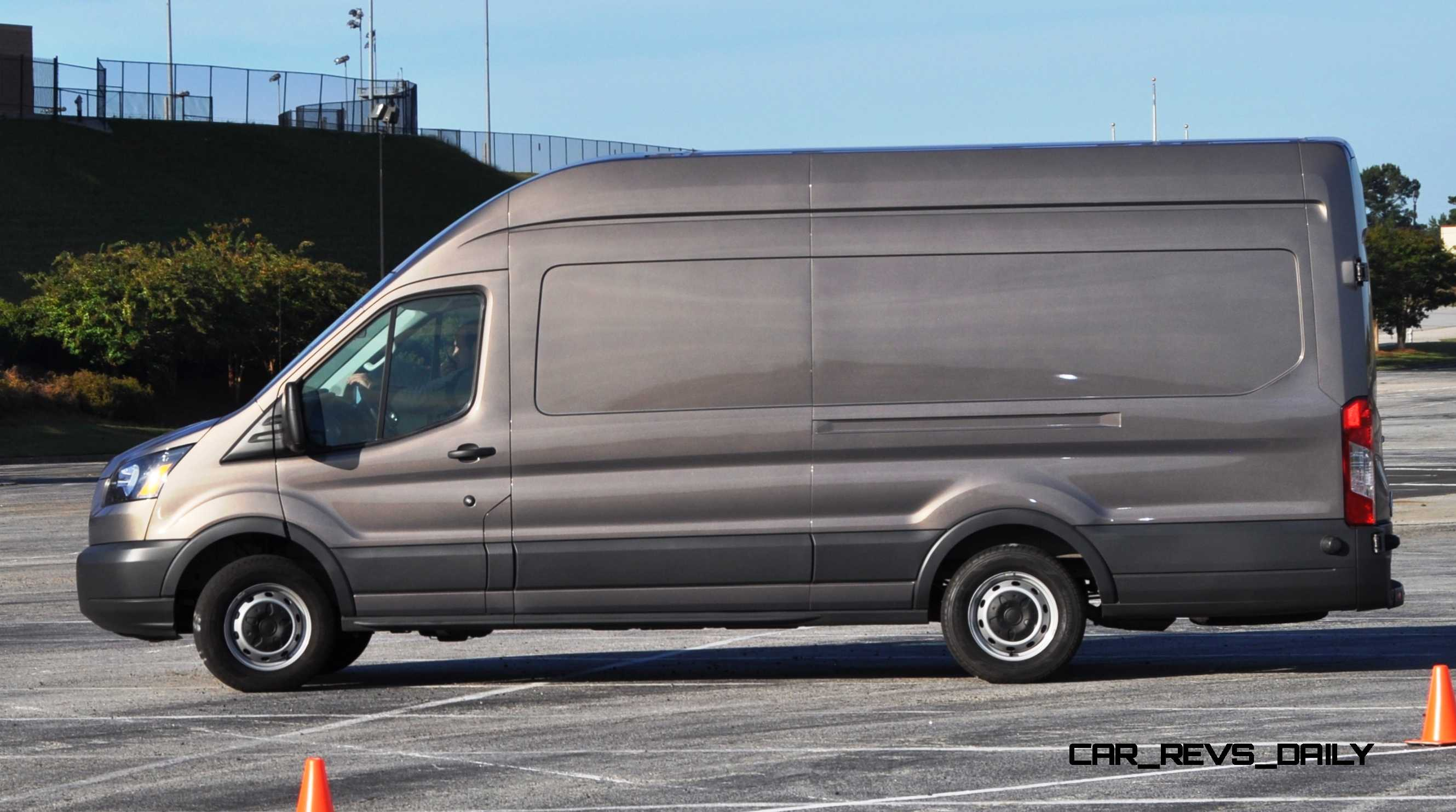 Captivating Previous Image. HD Track Drive Review   2015 Ford Transit PowerStroke  Diesel High Roof ...