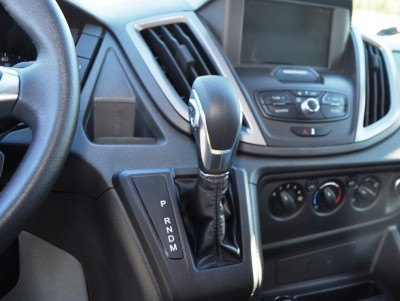 HD Track Drive Review - 2015 Ford Transit PowerStroke Diesel High-Roof, Long-Box Cargo Van 27