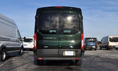 HD Track Drive Review - 2015 Ford Transit PowerStroke Diesel High-Roof, Long-Box Cargo Van 3