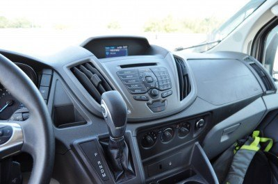 HD Track Drive Review - 2015 Ford Transit PowerStroke Diesel High-Roof, Long-Box Cargo Van 40