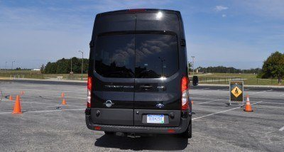 HD Track Drive Review - 2015 Ford Transit PowerStroke Diesel High-Roof, Long-Box Cargo Van 48