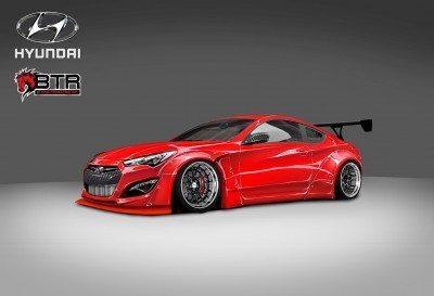 Hyundai Genesis Coupe by BloodType Racing 1
