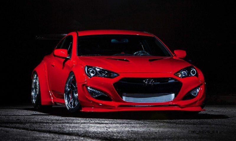 Hyundai Genesis Coupe by BloodType Racing 16