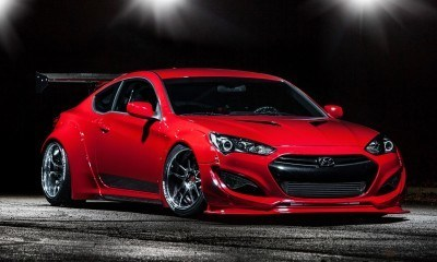 Hyundai Genesis Coupe by BloodType Racing 17