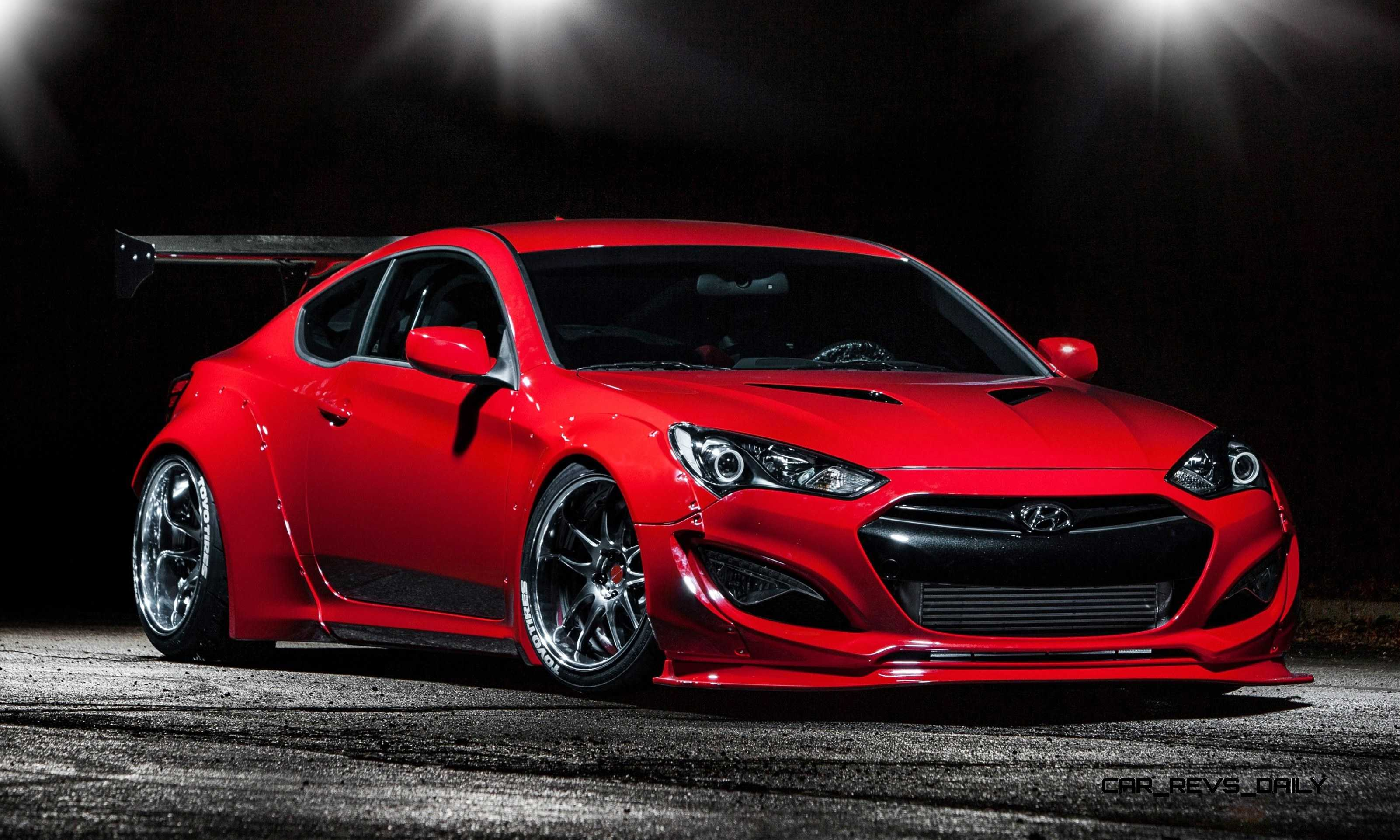best of sema 2014 hyundai genesis coupe by bloodtype racing. Black Bedroom Furniture Sets. Home Design Ideas