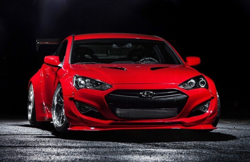 Hyundai Genesis Coupe by BloodType Racing 18
