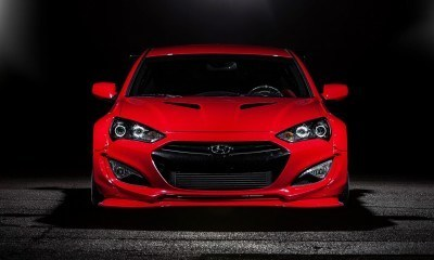 Hyundai Genesis Coupe by BloodType Racing 4