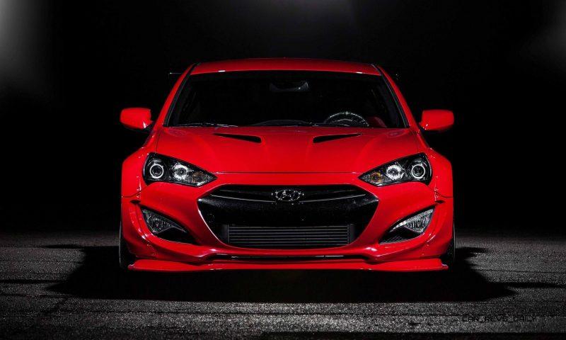 Hyundai Genesis Coupe by BloodType Racing 4