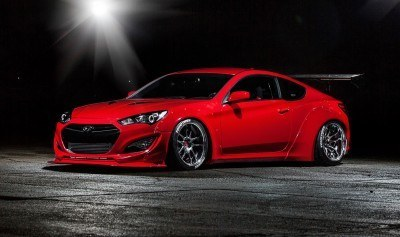 Hyundai Genesis Coupe by BloodType Racing 6