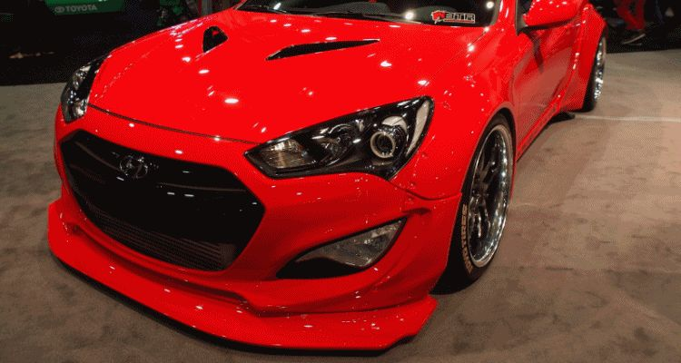 Hyundai Genesis Coupe by BloodType Racing gif