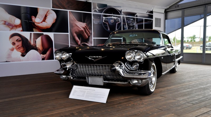 Iconic Classic Showcase - 1957 Cadillac Eldorado Brougham at Pebble Beach 2014 13