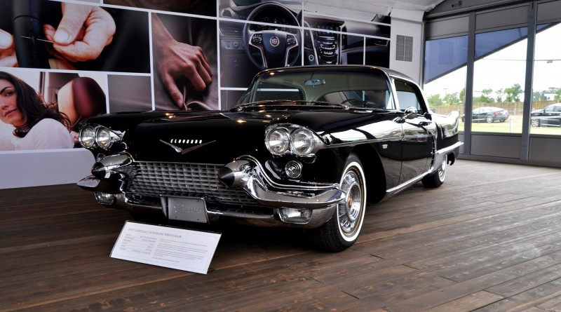 Iconic Classic Showcase - 1957 Cadillac Eldorado Brougham at Pebble Beach 2014 14