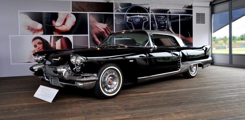 Iconic Classic Showcase - 1957 Cadillac Eldorado Brougham at Pebble Beach 2014 16