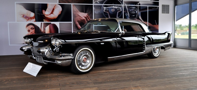 Iconic Classic Showcase - 1957 Cadillac Eldorado Brougham at Pebble Beach 2014 17