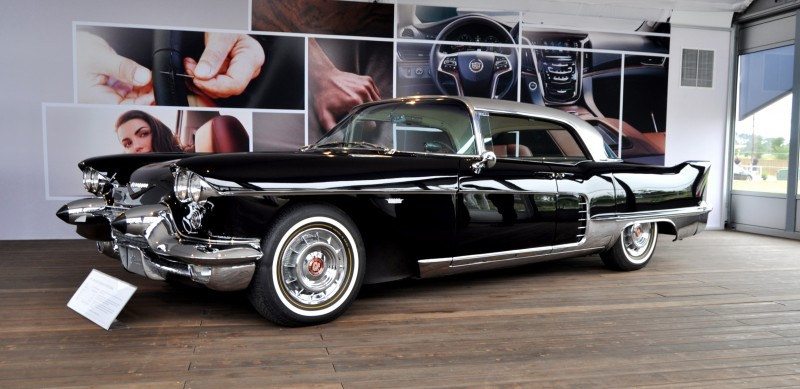 Iconic Classic Showcase - 1957 Cadillac Eldorado Brougham at Pebble Beach 2014 18
