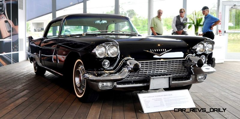 Iconic Classic Showcase - 1957 Cadillac Eldorado Brougham at Pebble Beach 2014 2