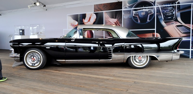 Iconic Classic Showcase - 1957 Cadillac Eldorado Brougham at Pebble Beach 2014 23