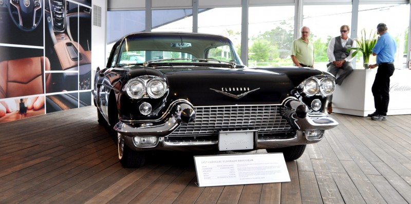 Iconic Classic Showcase - 1957 Cadillac Eldorado Brougham at Pebble Beach 2014 4