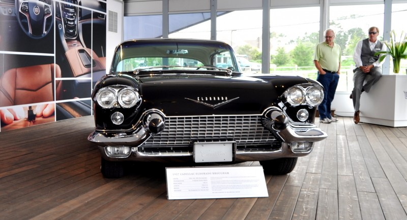 Iconic Classic Showcase - 1957 Cadillac Eldorado Brougham at Pebble Beach 2014 5