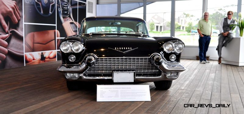 Iconic Classic Showcase - 1957 Cadillac Eldorado Brougham at Pebble Beach 2014 6