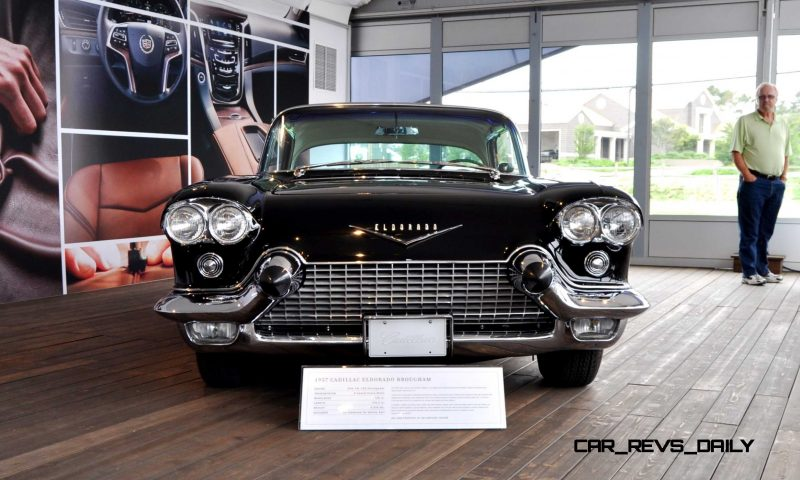 Iconic Classic Showcase - 1957 Cadillac Eldorado Brougham at Pebble Beach 2014 7