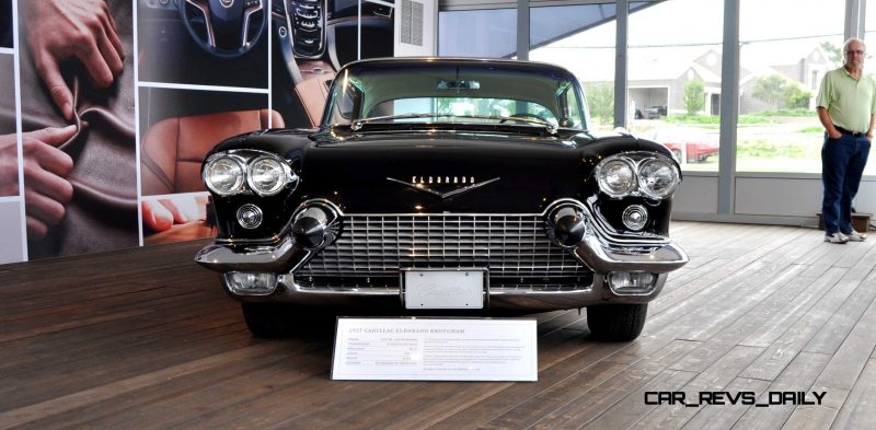 Iconic Classic Showcase - 1957 Cadillac Eldorado Brougham at Pebble Beach 2014 8