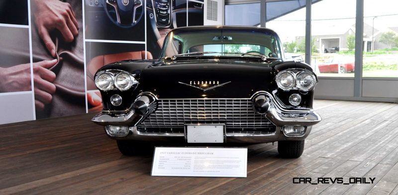 Iconic Classic Showcase - 1957 Cadillac Eldorado Brougham at Pebble Beach 2014 9