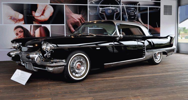 Iconic Classic Showcase - 1957 Cadillac Eldorado Brougham gif