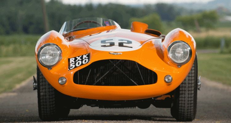 Iconic Classics - 1955 Aston Martin DB3S Earned $3.7M At RM Monterey 2012