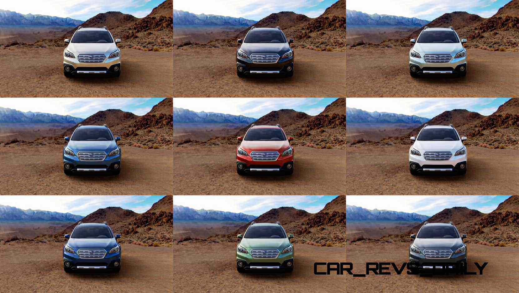 Colors of subaru outback