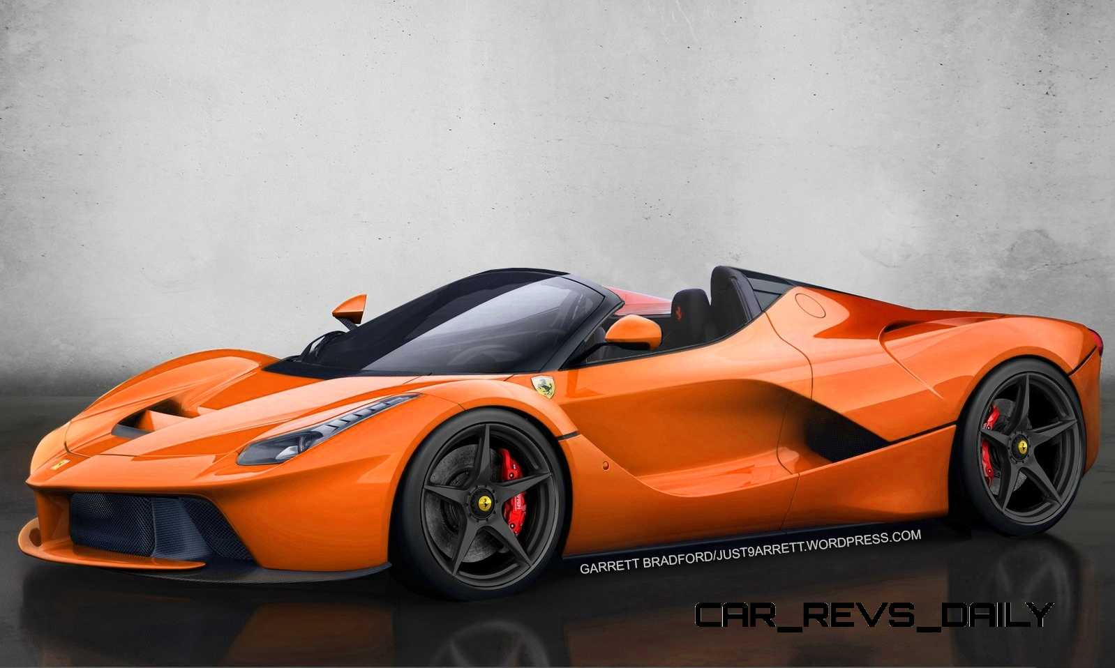 Laferrari Roadster Vs Mclaren P1 Spider