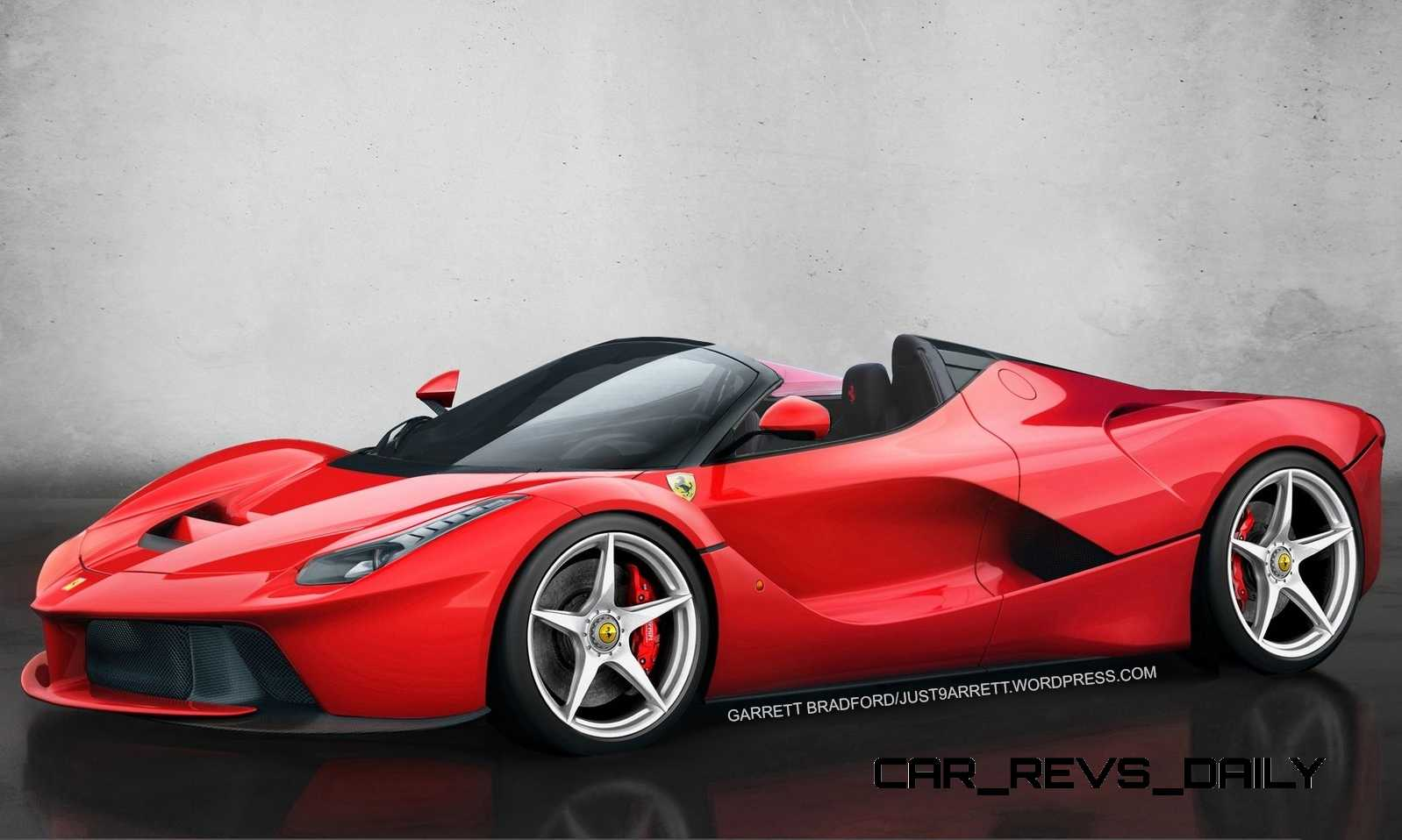 LaFerrari Roadster vs McLaren P1 Spider 6