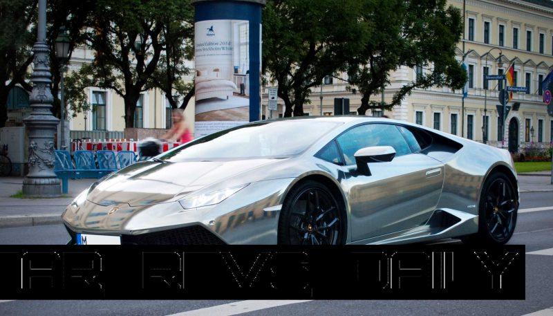 How Much Is A Lamborghini >> 2015 Lamborghini Huracan Stuns In Black-Chrome Wrap by ...