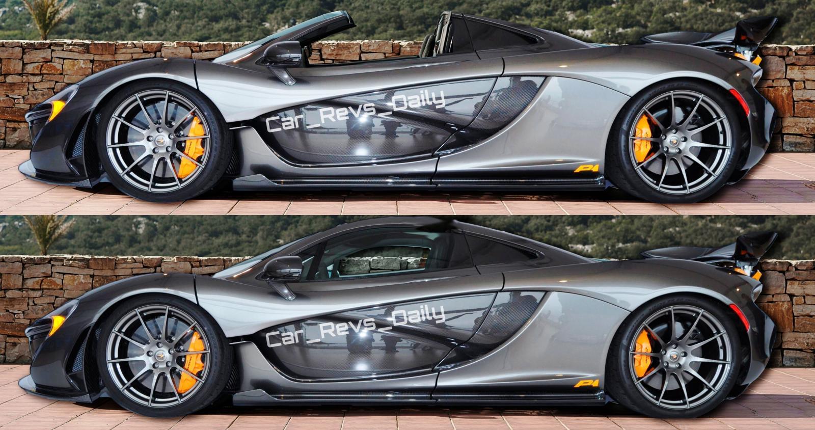 McLaren P1 Spider-vert