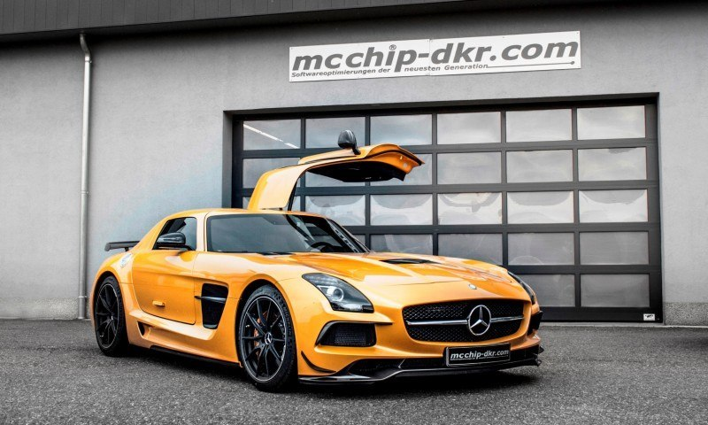 Mercedes-Benz SLS AMG Mc700 By McChip DKR 2