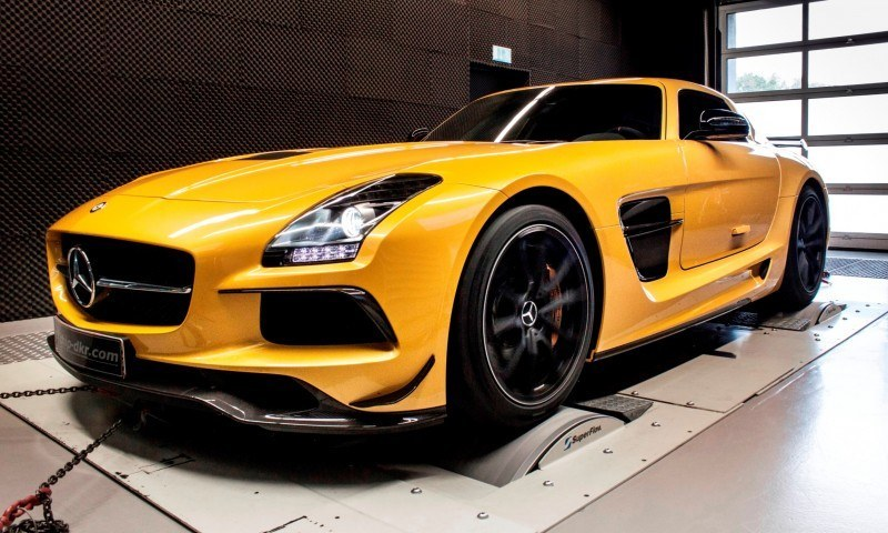 Mercedes-Benz SLS AMG Mc700 By McChip DKR 3