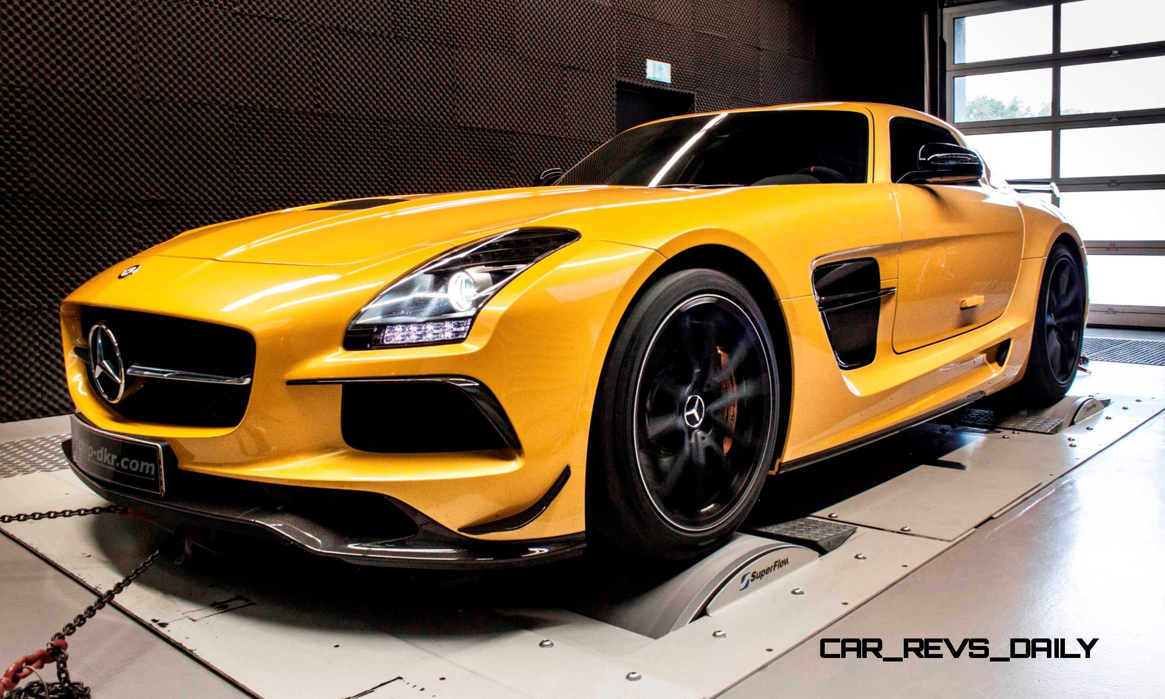 tuner showcase sls amg black series by mcchip dkr. Black Bedroom Furniture Sets. Home Design Ideas