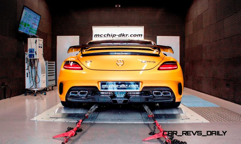 Mercedes-Benz SLS AMG Mc700 By McChip DKR 6