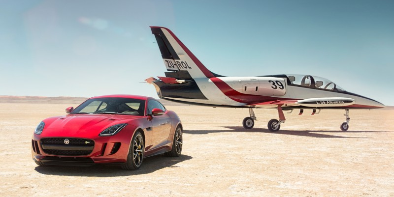 New all-wheel-drive Jaguar F-Type R boosts Bloodhound SSC record bid-60196