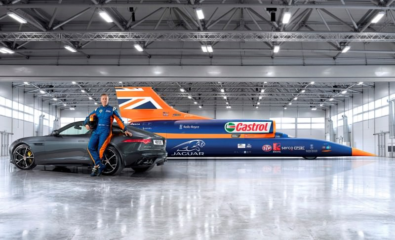 New all-wheel-drive Jaguar F-Type R boosts Bloodhound SSC record bid-60198