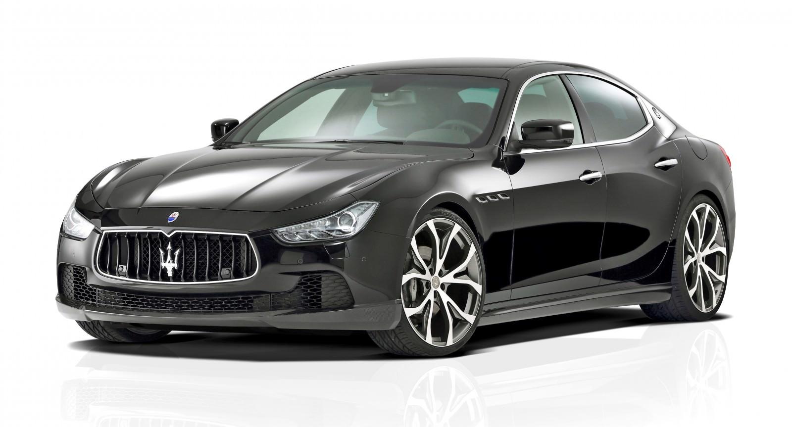 Novitec Tridente Maserati GHIBLI 1