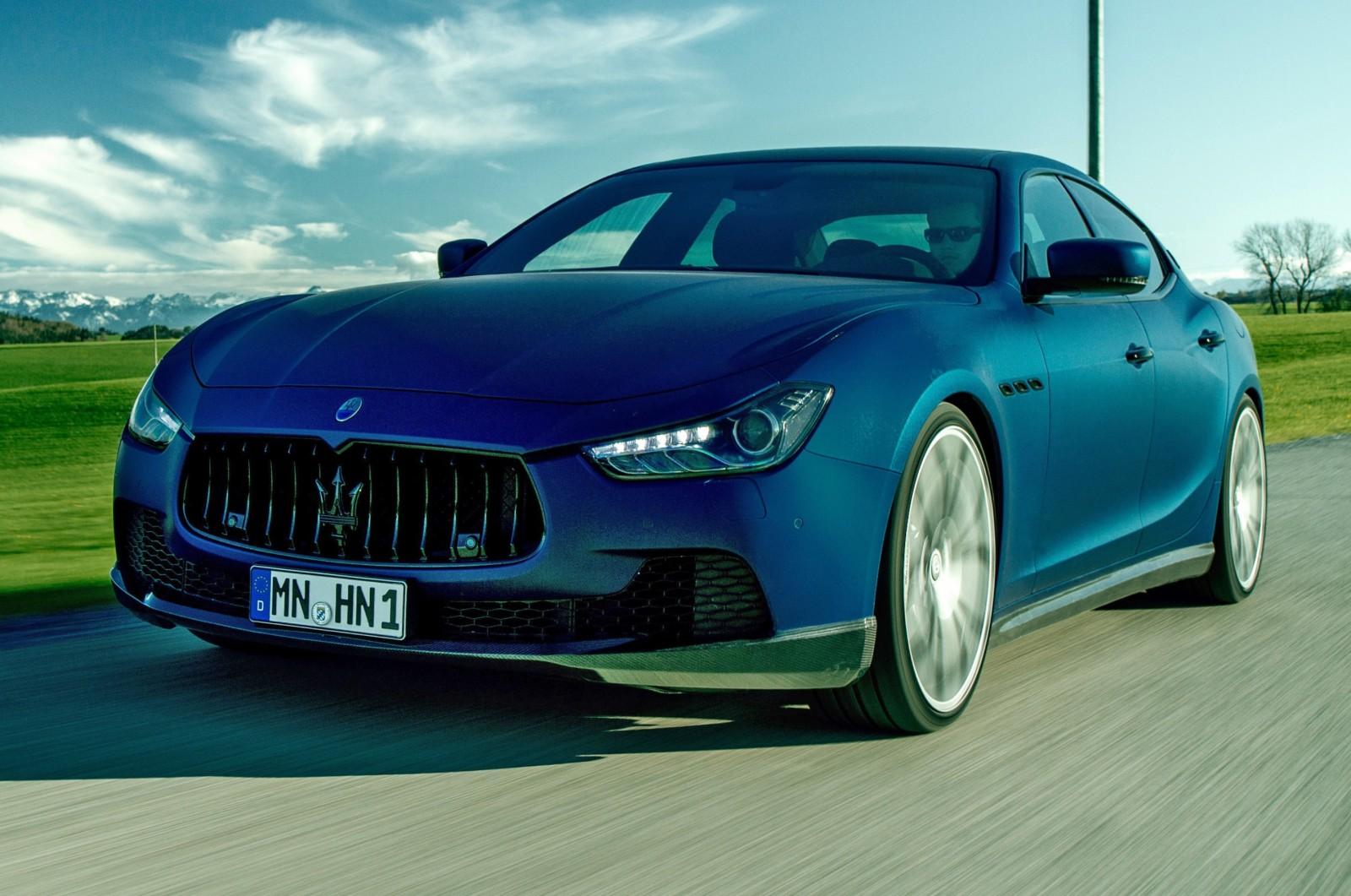 Novitec Tridente Maserati GHIBLI 5