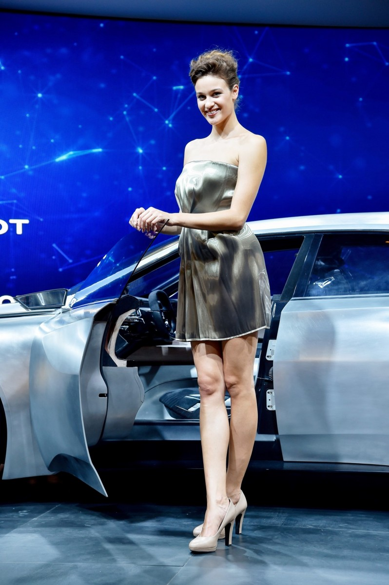 Paris 2014 - The Motor Show Girls 11