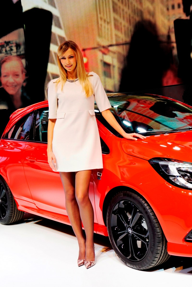 Paris 2014 - The Motor Show Girls 14