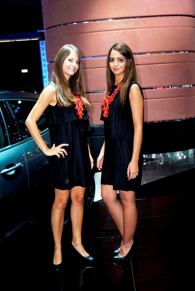 Paris 2014 - The Motor Show Girls 19